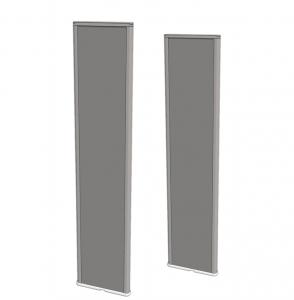 Bramki antykradzieżowe akustomagnetyczne AM Dexilon Solaris 180 - Standard Line