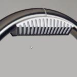 Bramka przeciwkradzieżowa radiowa RF mono.