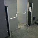 Instalacja bramek antykradzieżowych w kinach. Bramki antykradzieżowe akustomagnetyczne AM Dexilon Solaris 180.