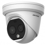 Bispektralna kamera mierząca temperaturę Hikvision.